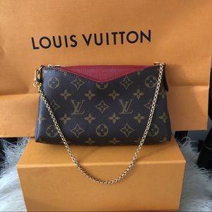 Louis Vuitton Pallas Clutch Cerise